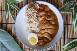 Chicken Curry Katsu Don