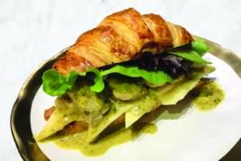Pesto Chicken Croissant