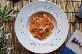Salmon De Vodka Pasta