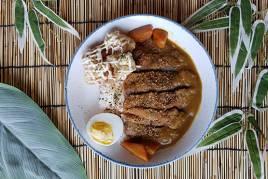 Wagyu Curry Katsu Don