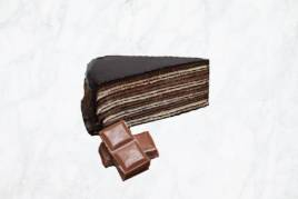 Belgian Chocolate Crepe Cake