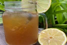 Homemade Ice Lemon Tea