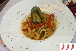 Sambal Seafood Pasta