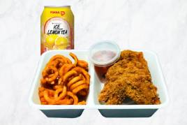 Golden Wings & Curly Fries Snack Pack