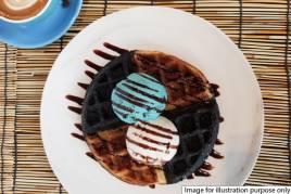 Mixed Batter Waffle